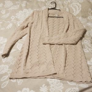 Leo & Nicole cable knit cardigan
